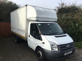 Ford transit Luton 115t350 14ft tail lift 2011 104,000 miles 1 owner