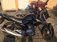 Yamaha YBR125, excellent condition, very low mileage