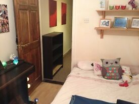 Double room available in friendly house with garden