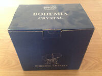 NEW Bohemia Crystal 180ml champagne flutes x6 New in box from 1990