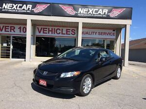 2012 Honda Civic EX-SR C0UPE 5 SPEED A/C SUNROOF 92K
