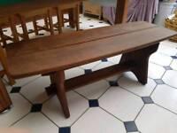 Hattersley Iroko Coffee Table