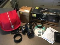 Nikon D3100 and extras