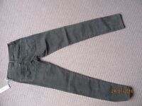 BRAND NEW GIRLS DIESEL CORDUROY TROUSERS KHAKI SIZE 14 YEARS OLD