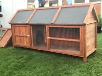 Large rabbit cage with rain and sun cover