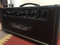 Bad Cat Black Cat 15 head, reverb, master, 12ax7, ef86, footswitch