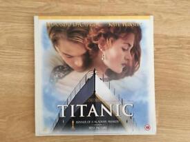 Laserdisc PAL of Titanic