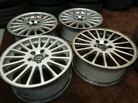 "Genuine oem Volvo 17"" alloy wheels ford connect focus s60 v70"