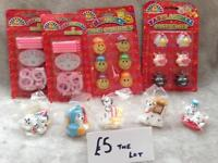 Selection of novelty candles
