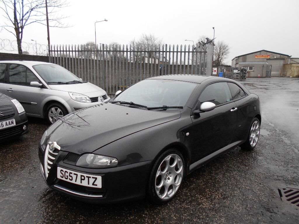 alfa romeo gt 1 9 jtdm 16v blackline 2dronly 1 owner from new diesel in blackburn west. Black Bedroom Furniture Sets. Home Design Ideas