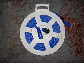 20 Metre Food Quality Super Flat Hose on Reel.