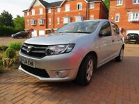 Silver Dacia Sandero, 1 owner from new, full service history.