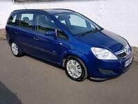Vauxhall zafira life easytronic 7 seater automatic 2008 mot may 2018
