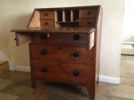 Antique Oak Bureau