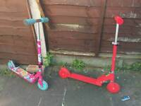 Boys and Girls Scooters