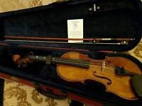 Stentor Student II Violin 3/4 Size Mint Condition
