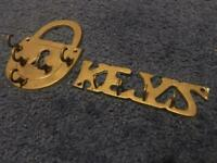 Brass Key holder racks