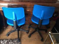 Blue Alrik IKEA Chair
