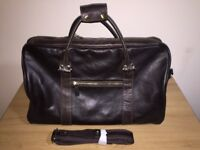 mens big leather bag