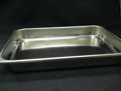 Unbranded 16-78 X 11-12 X 2-12 Stainless Steel Full Pan With Rolled Bead