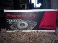 Pioneer CDJ 850-K (only used a few times)
