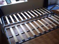 DOUBLE METAL SOFA BED