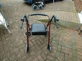 Rollator, with seat, for sale