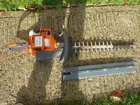 Husqvarna professional heavy duty hedge cutters cost over £400 (Newick)