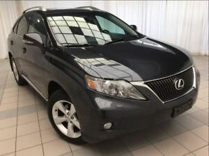 2010 Lexus RX 350 Premium Package: DVD and Winter Tires.
