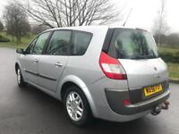 Renault Grand Scenic DYNAMIQUE + 2006 + 6 speed +7 SEATS +TOW BAR +LEATHER + FSH + Full test