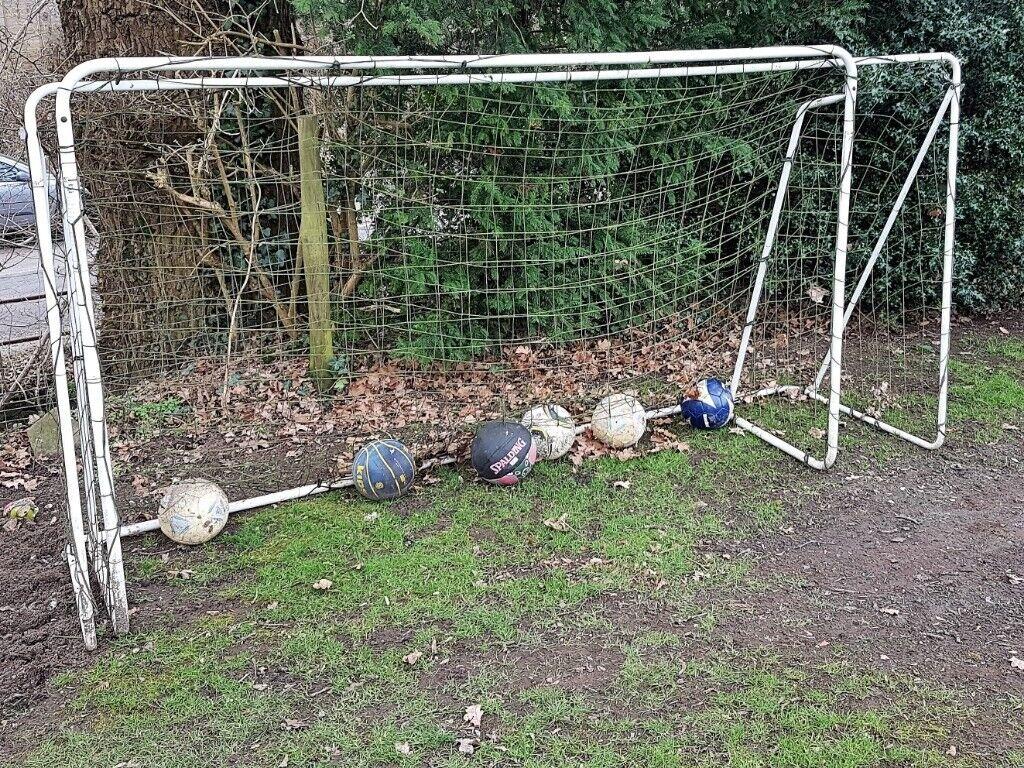 new style 35a92 433d3 Decathlon Metal Football Goals x 2 (for garden) | in Westerham, Kent |  Gumtree