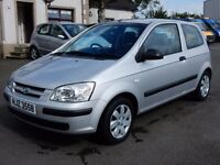 2004 Hyundai getz gsi only 29000 miles, motd feb 2017 tidy example all cards welcome