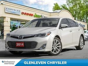 2014 Toyota Avalon Nav, Heated/Vented Leather, Sunroof, Low KMS!