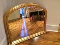 John Lewis Overmantle Mirror