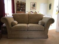 Large 3seater sofa and 2seater sofa with footstool