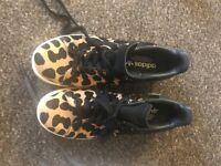 Ladies Adidas Leopard Print Stan Smiths