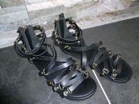Girls sandals size 2