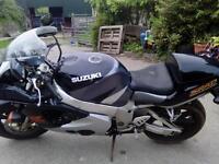 Motor bike Suzuki GSXR 750 SRAD motor bike