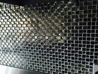 Luxury Bathroom/Kitchen tiles (stainless steel and glass)