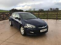 2014 Vauxhall Astra 1.7 CDTI 5 door £4650