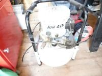 this is a silent air compressor exent condition