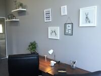 Don't be isolated by working from home/ in coffee shops. Rent desk space here!