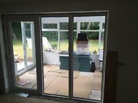 UPVC Patio windows with door