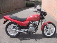 honda cb 250 1993 good runer starts on the button; good on petrol. very good all round.