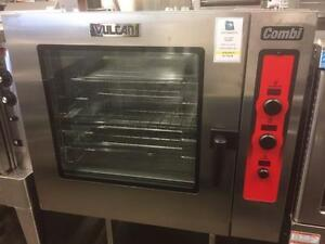 **VULCAN FULL SIZE COMBI OVEN - IT'S AS EASY AS ABC TO USE**