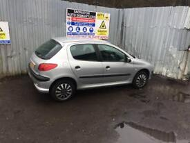 breaking for spares peugeot 206 1.4 petrol 2006