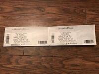 Maccabees tickets x2 - Alexandra palace - Thursday 29th june