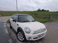 MINI HATCH COOPER 1.6 COOPER 3d 118 BHP 6 Month RAC Parts & Labour Warranty Years MOT