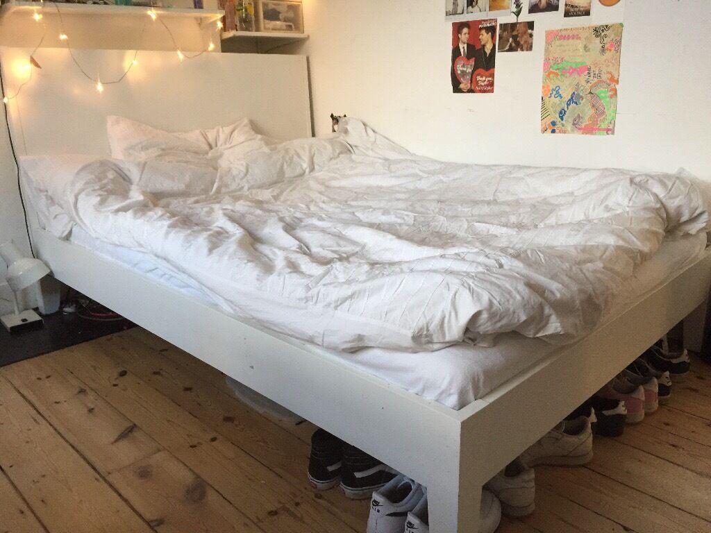 ikea nordli double bed base in norwood london gumtree. Black Bedroom Furniture Sets. Home Design Ideas