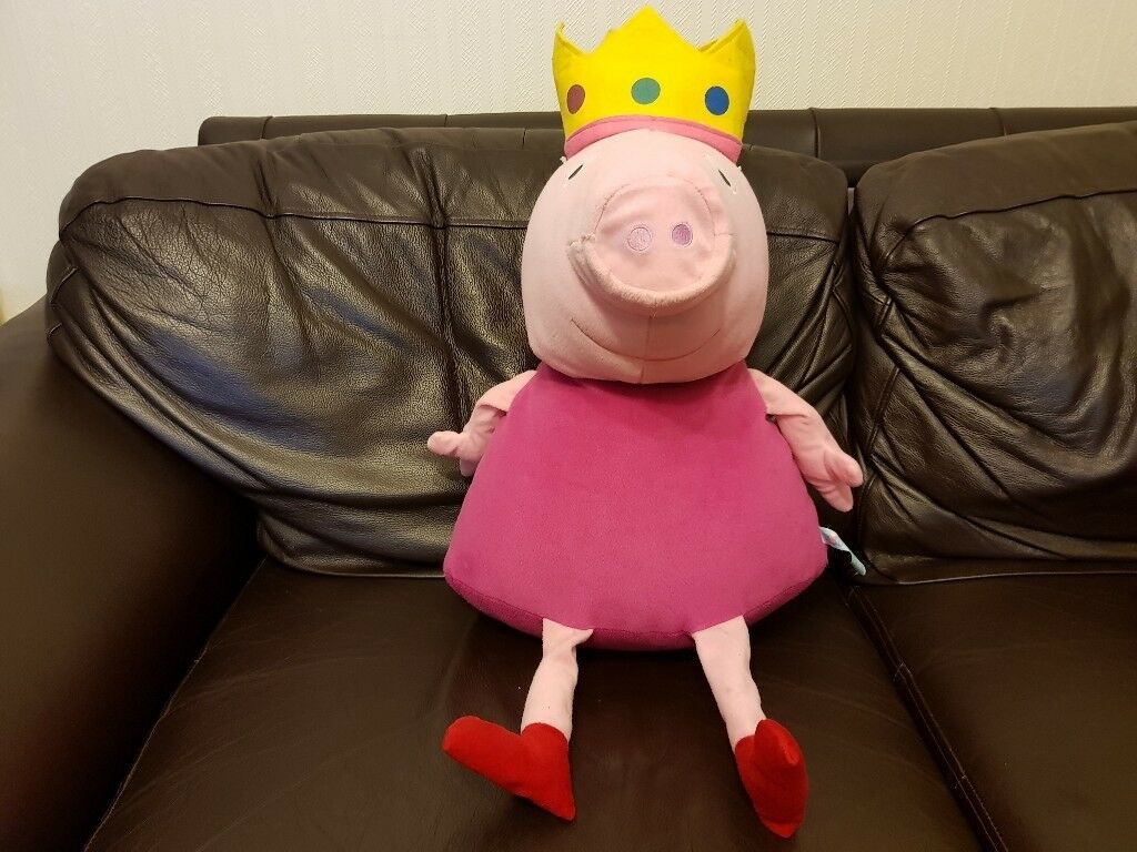 Peppa Pig large soft toy from Peppa Pig World